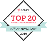 Soliant Top 20 Most Beautiful Hospitals logo